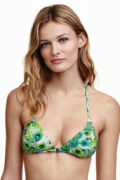 Triangle bikini top Model