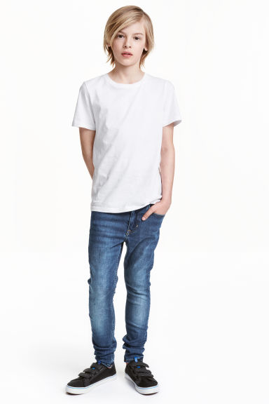 Skinny Fit Jeans - Denim blue - Kids | H&M CN 1