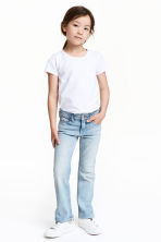 Boot cut Jeans - Light denim blue - Kids | H&M CN 1