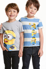 2-pack T-shirts - Grey/Minions - Kids | H&M CN 1