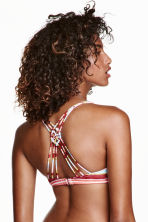Triangle bikini top - Multistriped - Ladies | H&M CN 1
