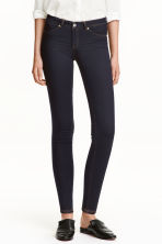 Feather Soft Low Jeggings - Dark denim blue/Raw - Ladies | H&M CN 1
