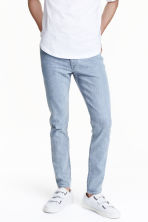 Skinny Regular Jeans - Light denim blue -  | H&M CN 1