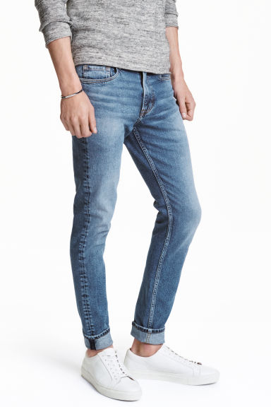 Skinny Regular Jeans - Blu denim - UOMO | H&M IT 1