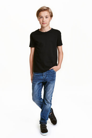 Tapered Jeans - Bleu denim - ENFANT | H&M FR 1