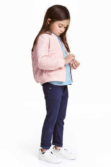 Stretch trousers - Dark blue - Kids | H&M CN 1