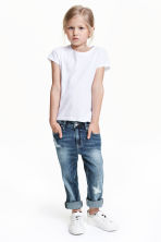 Relaxed Jeans - Denim blue - Kids | H&M CN 1