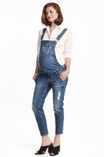 MAMA Denim dungarees - Denim blue - Ladies | H&M GB 1