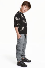 Cargo pants - Dark grey - Kids | H&M CN 1