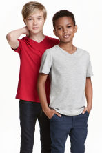 2-pack T-shirts - Red - Kids | H&M CN 1