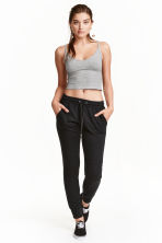 Joggers - Nero - DONNA | H&M IT 3