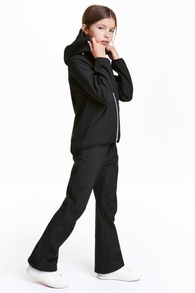 Softshell trousers - Black - Kids | H&M CN 1