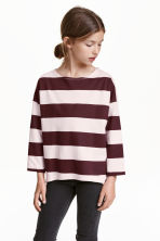 Jersey top - Light pink/Striped - Kids | H&M CN 2
