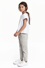 Sweatpants - Light grey marl - Kids | H&M CN 1