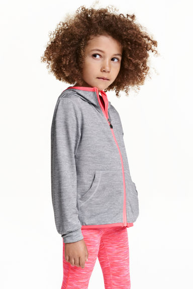 Sports jacket - Grey marl - Kids | H&M CN 1