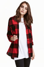 Flannel shirt - Red - Ladies | H&M CN 1
