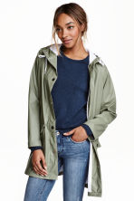 Rain coat - Khaki green - Ladies | H&M CN 1
