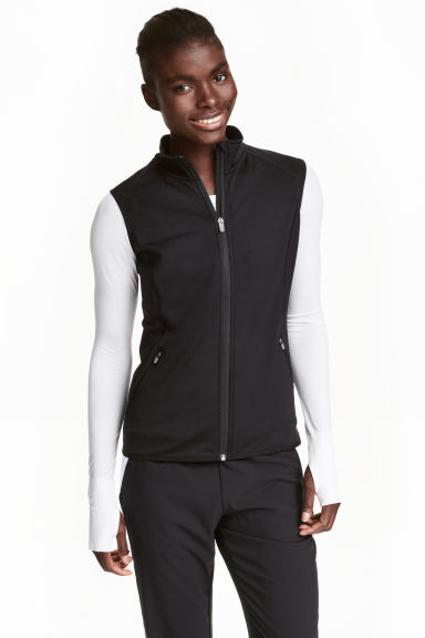 Gilet in pile - Nero - DONNA | H&M IT 1
