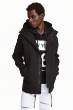 Parka with a hood - Black - Men | H&M CN 1