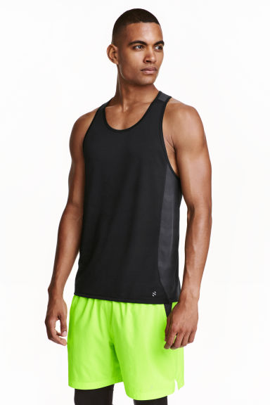 Ultra-light running vest - Black - Men | H&M CN 1