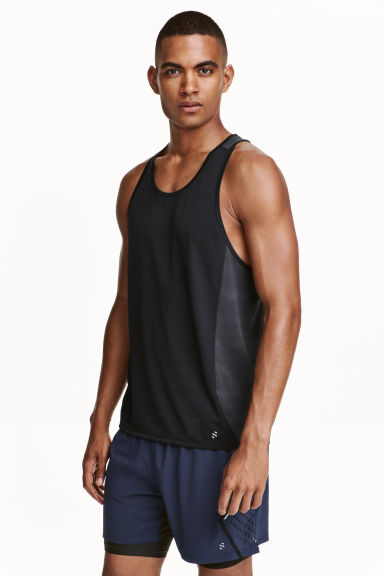 Running shorts - Dark blue - Men | H&M CN 1
