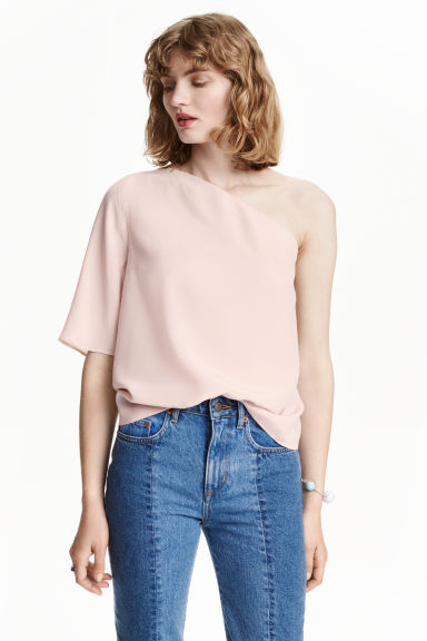 Top monospalla - Cipria - DONNA | H&M IT 1