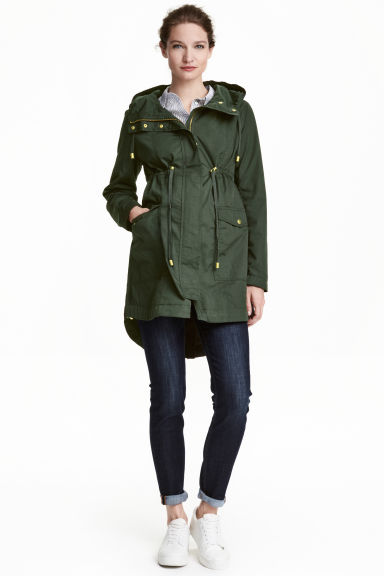MAMA Parka - Verde oscuro - MUJER | H&M ES 1