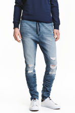 Slim Low Joggers - Denim blue - Men | H&M 2