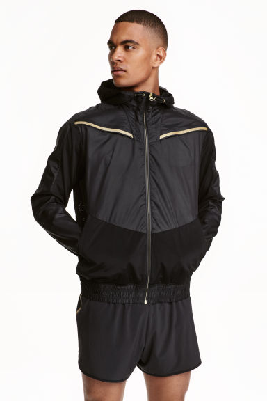 Running jacket - Black - Men | H&M CN 1