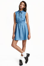 Sleeveless dress - Blue - Ladies | H&M CN 1