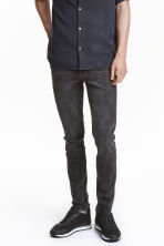 Skinny Regular Jeans - Black washed out -  | H&M CN 1