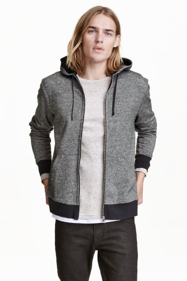 連帽外套 - Grey marl - Men | H&M 1