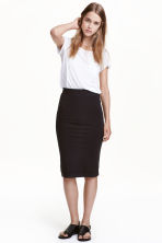 Jersey skirt - Black - Ladies | H&M GB 2