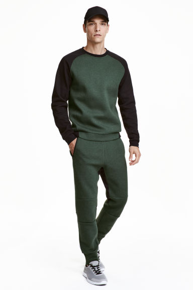 Sports trousers  - Dark green - Men | H&M CN 1