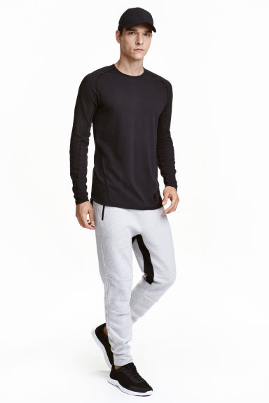 Sports trousers  - Light grey marl - Men | H&M CN 1