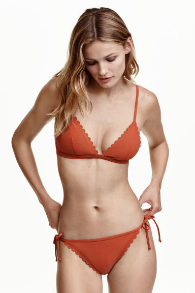 Tie tanga bikini bottoms - Rust - Ladies | H&M IE