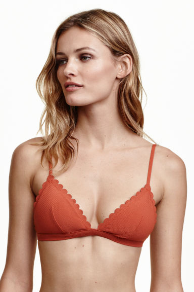 Triangle bikini top - Rust - Ladies | H&M CN 1