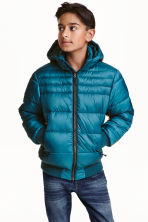 Padded jacket - Petrol - Kids | H&M CN 1