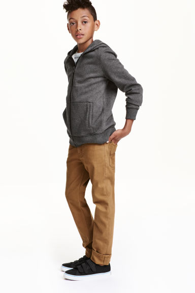 Twill trousers Skinny fit - Camel - Kids | H&M CN 1