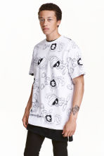 Printed T-shirt - White/Looney Tunes - Men | H&M CN 1