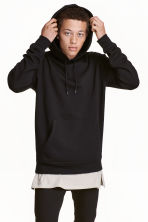 Hooded top - Black -  | H&M GB 3