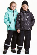 Outdoor trousers with braces - Black - Kids | H&M CN 1