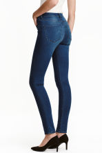 Shaping Skinny Regular Jeans - 深牛仔蓝 - Ladies | H&M CN 1
