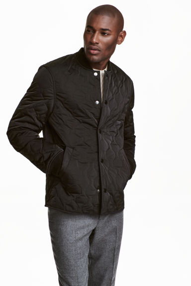 Quilted jacket - Black - Men | H&M CN 1