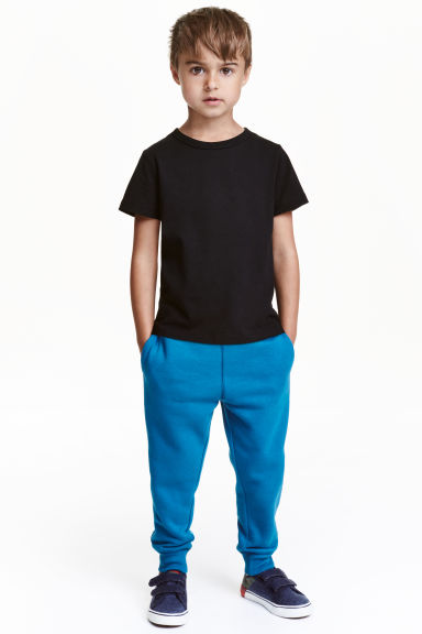 Sweatpants - Dark turquoise - Kids | H&M CN 1