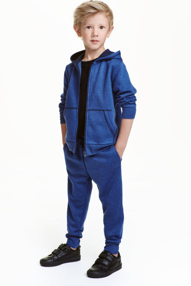 Sweatpants - Blue marl - Kids | H&M 1