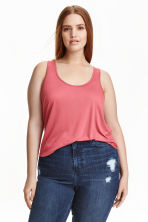 H&M+ Jersey vest top - Pink - Ladies | H&M CN 1