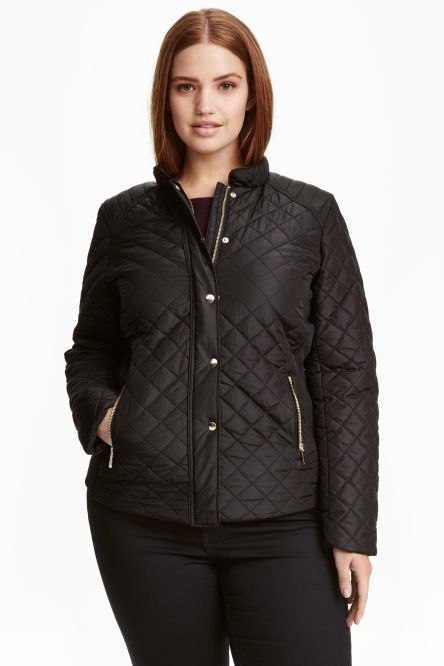 H&M+ Quilted jacket