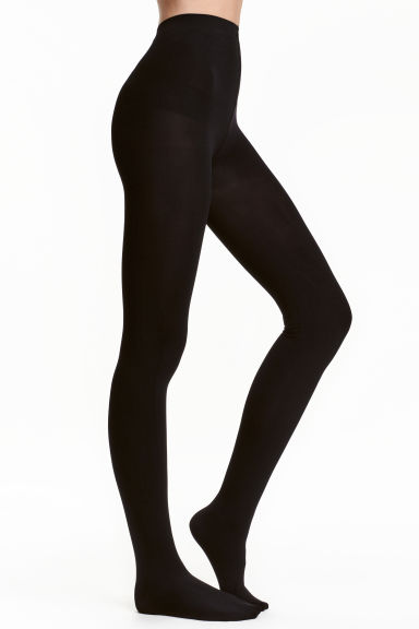 200 denier tights - Black - Ladies | H&M GB 1