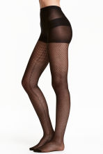 Fishnet tights - Black - Ladies | H&M GB 1